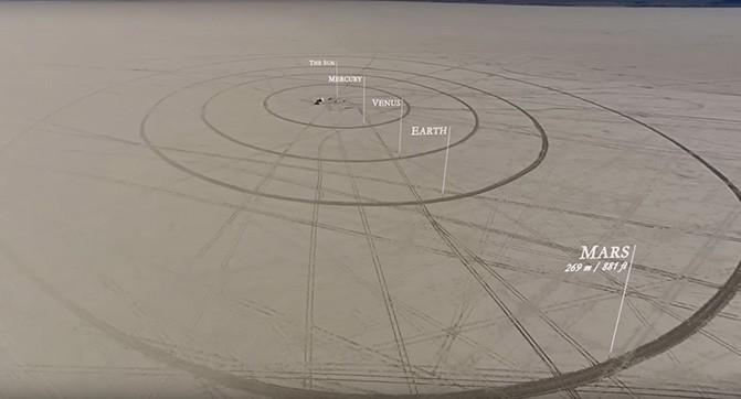 Энтузиасты создали масштабную модель Солнечной системы протяжённостью 11 км