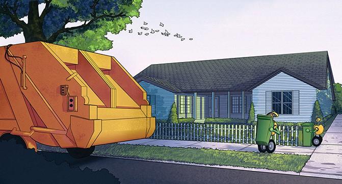 Volvo занялась разработкой робота, который сможет заниматься сбором мусора