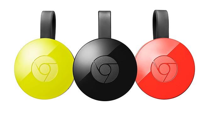 Google представила обновлённую версию Chromecast