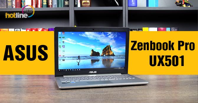 Видеообзор ASUS Zenbook Pro