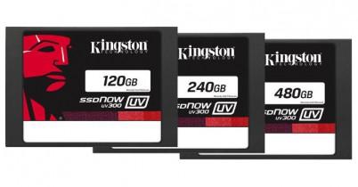 Kingston UV300: накопители начального уровня c контроллером Phison S10 и памятью TLC