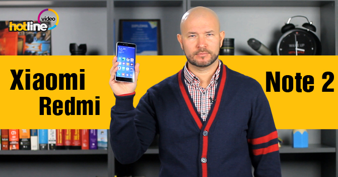 Видеообзор Xiaomi Redmi Note 2