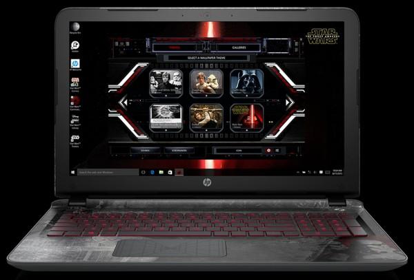 Компания HP презентовала стилизованный ноутбук Star Wars Special Edition Notebook