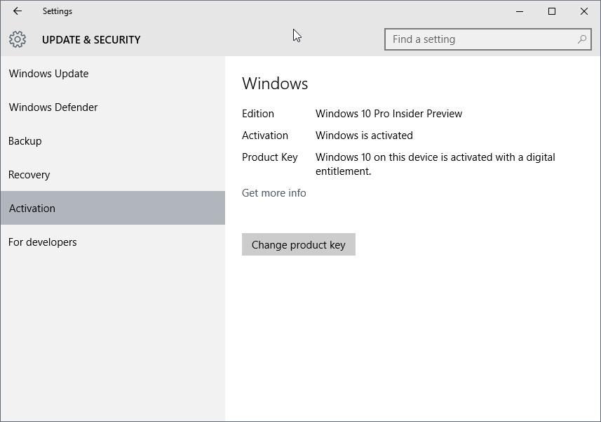Windows 1 : как активировать | Windows 1