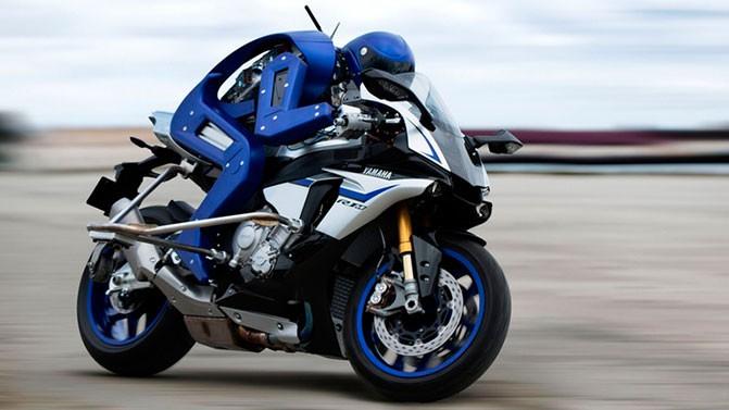 Motobot - робот, способный ездить на мотоцикле
