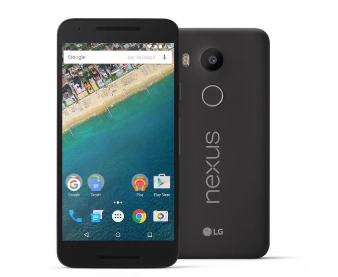 В Украине начинаются продажи смартфона LG Nexus 5Х