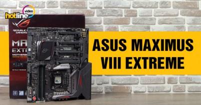 Видеообзор платы ASUS MAXIMUS VIII EXTREME