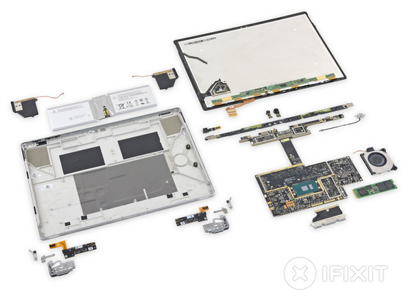 iFixit: ноутбук Microsoft Surface Book крайне проблематично ремонтировать