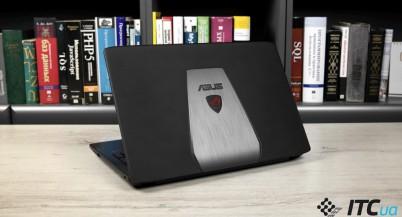 Обзор игрового ноутбука ASUS ROG GL552JX