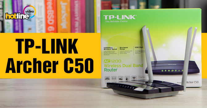 Видеообзор TP-LINK Archer C50