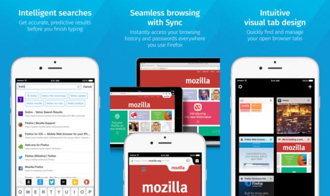 Mozilla выпустила финальную версию браузера Firefox для iOS