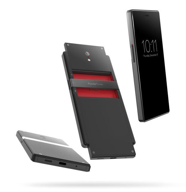 На Indiegogo собирают деньги на модульный смартфон Puzzlephone
