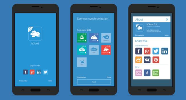 Украинец собирает $7500 на приложение bCloud, которое объединит облачные сервисы хранения данных в едином интерфейсе