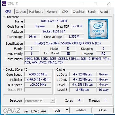 GIGABYTE_GA-Z170-D3H_CPU-Z_4600