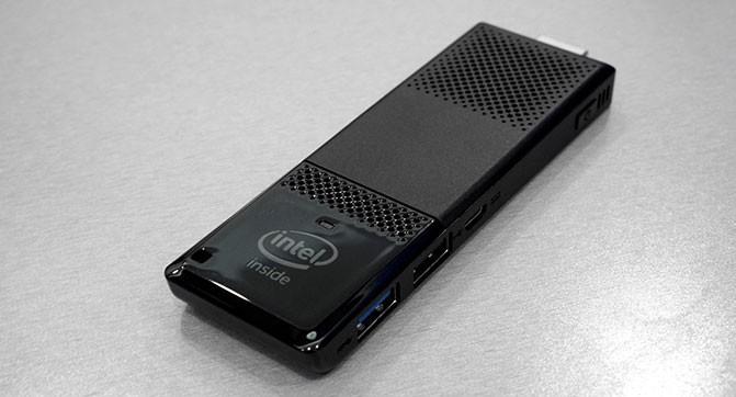 Компактные компьютеры Intel Compute Stick получили более производительные процессоры и ряд других улучшений