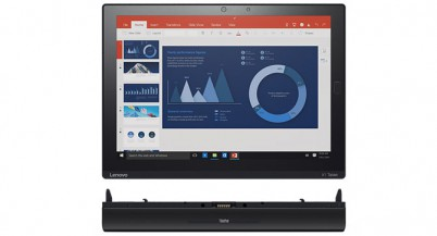 Lenovo показала планшет ThinkPad X1, который также может выполнять роль ноутбука, проектора и 3D камеры