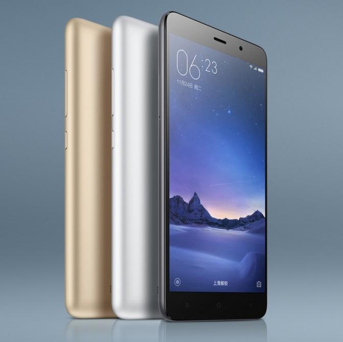 Состоялся анонс смартфона Xiaomi Redmi Note 3 Pro в двух модификациях