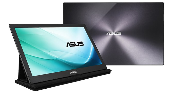 ASUS показала первый портативный монитор с интерфейсом USB Type-C