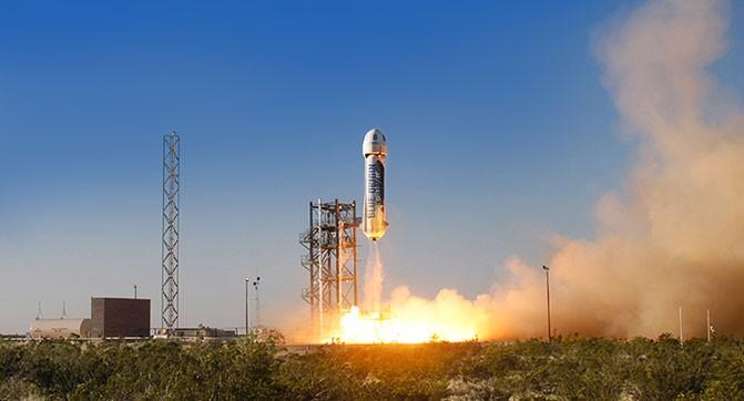Blue Origin смогла повторно запустить в космос и приземлить многоразовую ракету New Shepard