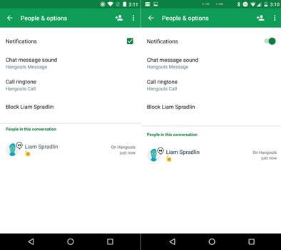 Google Hangouts на Android обновился до версии 7.0: быстрый ответ, ярлыки контактов, новый дизайн и другое