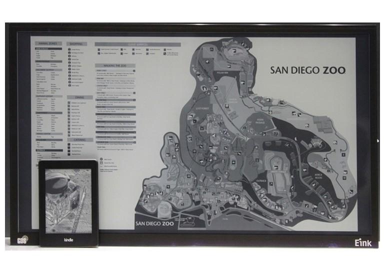В этом году могут появиться 40-50-дюймовые E Ink дисплеи