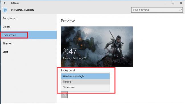Отключить функцию Spotlight, или Как раз и навсегда попрощаться с рекламой на экране блокировки в Windows 10