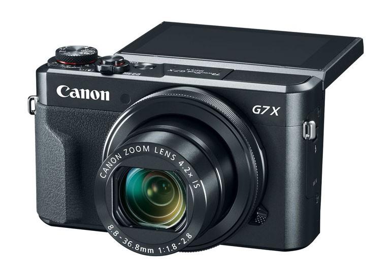Анонсированы новые цифровые камеры Canon G7 X Mark II и Canon 80D