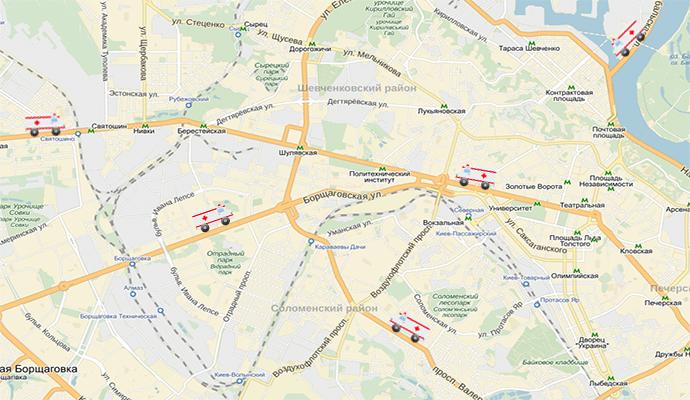 Kyiv Map