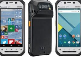 Новые защищенные 4,7-дюймовые планшеты Panasonic Toughpad FZ скорее можно отнести к смартфонам