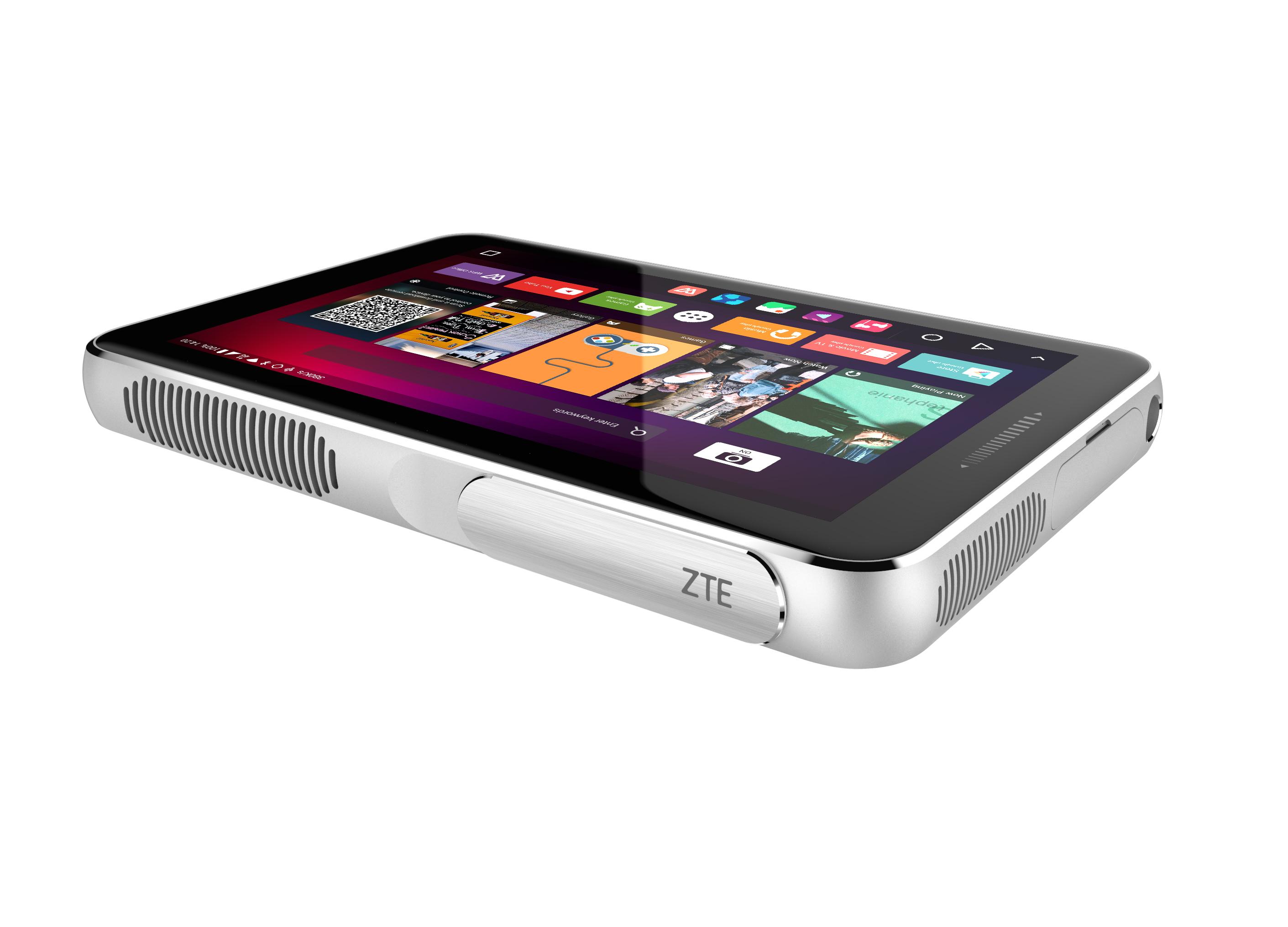 MWC 2016: планшет ZTE SPRO Plus спроектором
