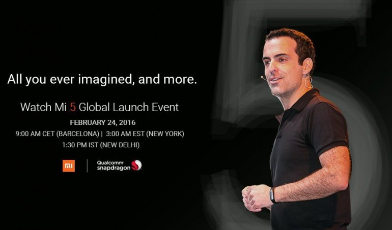 Xiaomi Mi 5 Global Launch Event