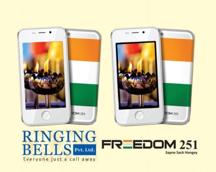 В Индии представили сверхдоступный смартфон Freedom 251 стоимостью $4