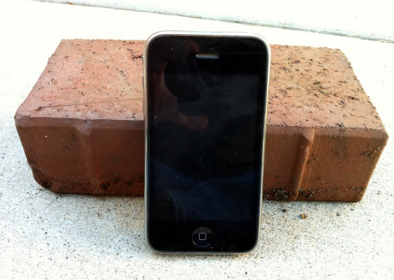 iPhone Brick