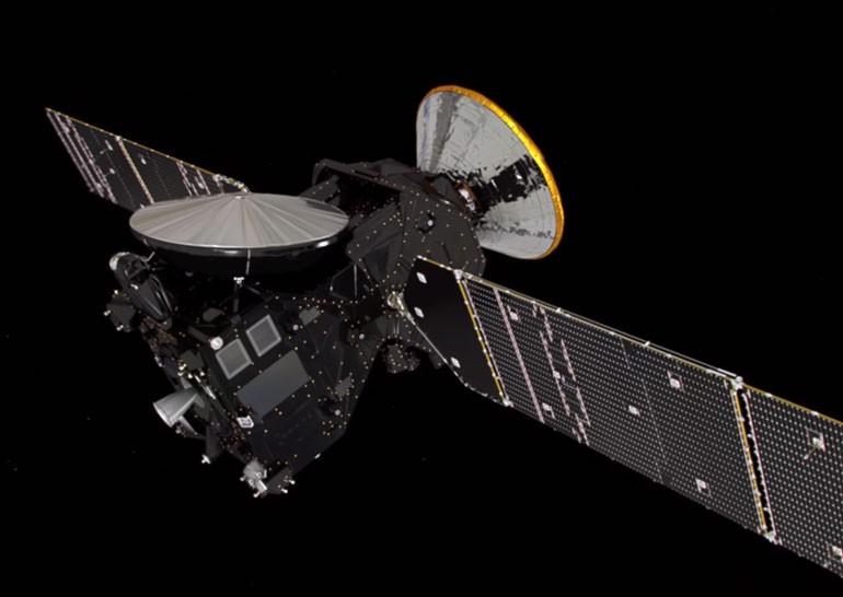 Опубликован ролик с плановым полетом к Марсу в рамках первой мисси ExoMars