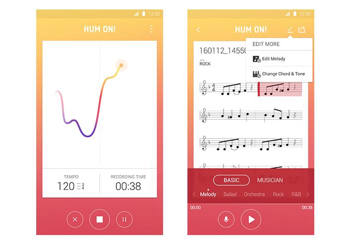 Samsung продемонстрировала проекты Hum On!, Waffle и Entrim 4D