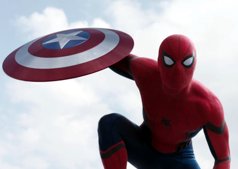 Captain America Civil War Spide Man