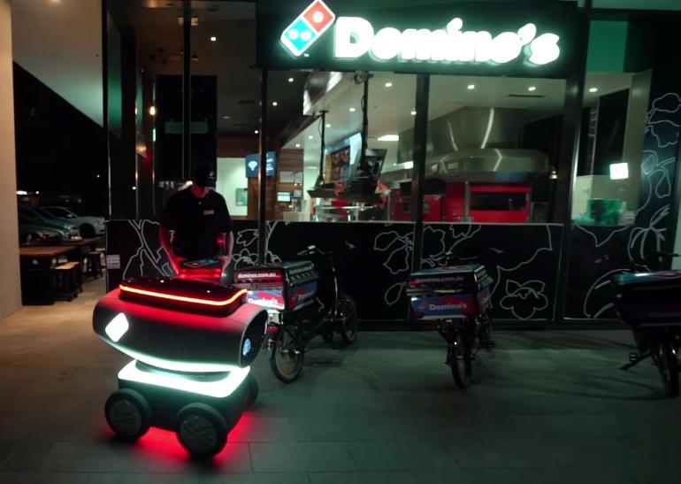 Domino's Robotic Unit (4)