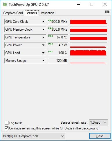 GIGABYTE_BRIX_GB-BSi3H-6100_GPU-Z_nagrev