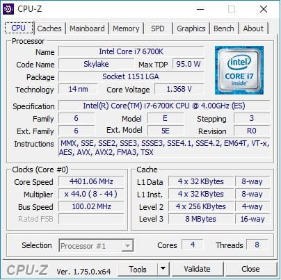 GIGABYTE_GA-Z170-Gaming_K3_Soft_OC_CPU-Z_4400