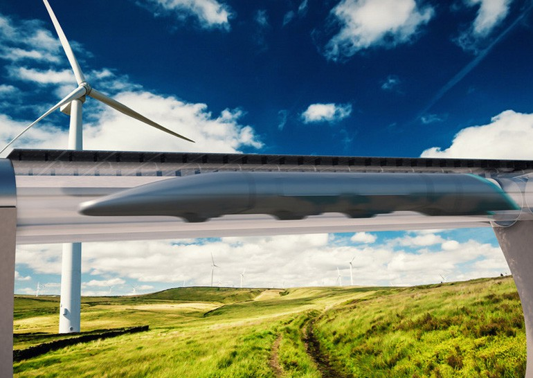 В транспорте Hyperloop могут появиться окна дополненной реальности