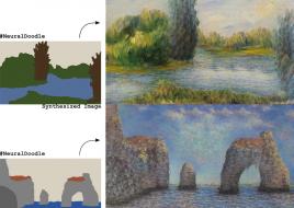 """Программа Neural Doodle на основе нейросети превращает """"каракули"""" в художественные шедевры"""