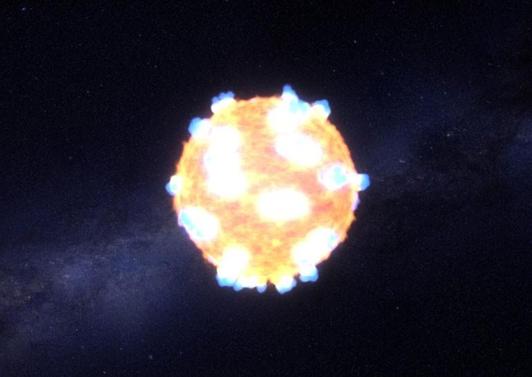 NASA показало момент уничтожения звезды взрывом сверхновой