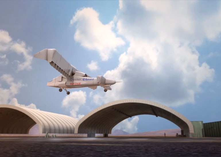 Aurora Flight Sciences разработает самолет вертикального взлета