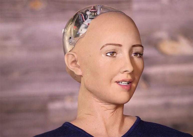 Hanson Robotics показала робота, очень похожего на человека