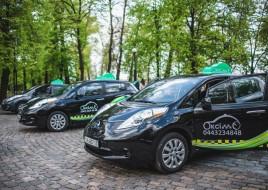 В Киеве запущена первая служба электротакси Окси-Такси
