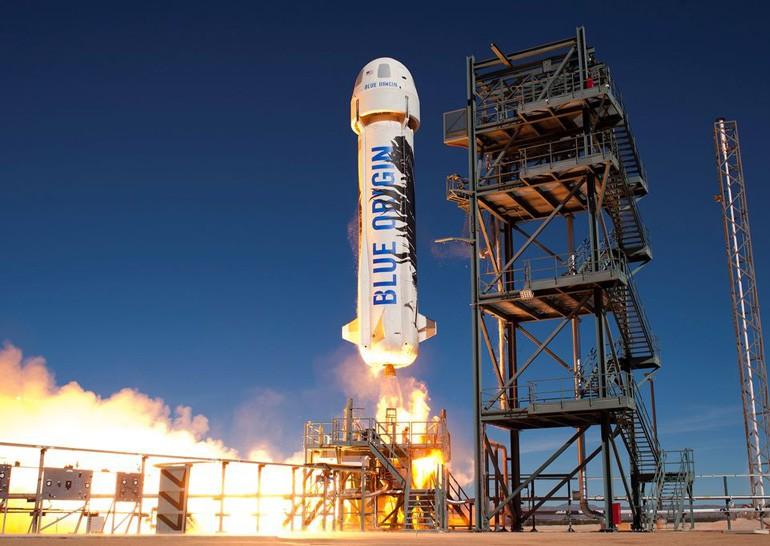 Blue Origin успешно запустила и приземлила ракету New Shepard третий раз подряд