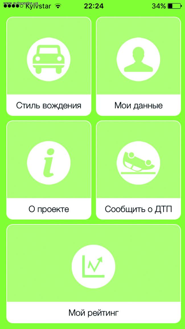 Украинская страховая компания предлагает скидку на КАСКО водителям, которые разрешат ей удаленно следить за своим стилем вождения
