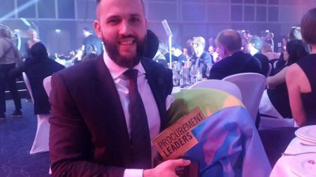 Украинская ProZorro получила награду World Procurement Awards 2016 как лучшая электронная система закупок