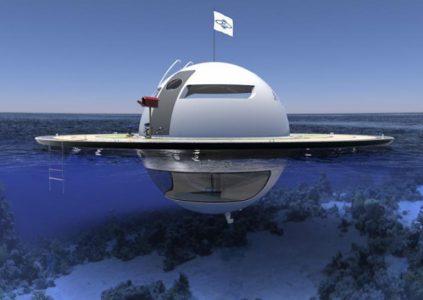 В Италии спроектировали плавучий энергонезависимый дом