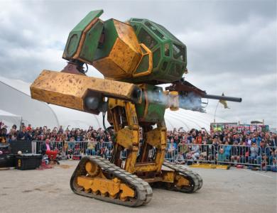 Американский стартап MegaBots привлёк $2,4 млн инвестиций на создание международной лиги пилотируемых боевых роботов